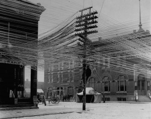 przewody elektryczne