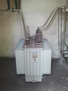 Transformator 250 kVA przed przeglądem