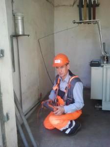 Pomiar uziemienia transformatora 250 kVA