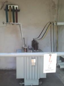 Transformator po przeglądzie i konserwacji