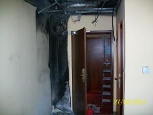 skutki pożaru instalacji elektrycznej